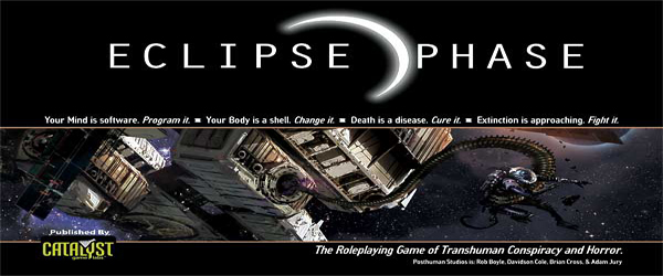 Eclipse Phase: la recensione e i manuali GRATIS!