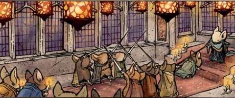 Mouse Guard highlight