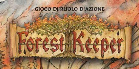 la copertina di forest keeper