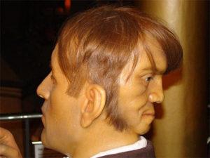 Edward Mordrake statua cera