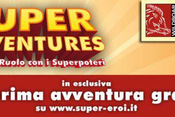 Scenario gratuito per il gdr super adventures