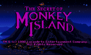 Main Screen: Secret of Monkey Island