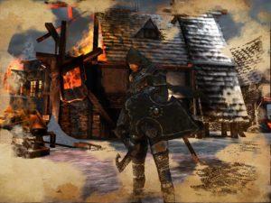 Schermata di combattimento