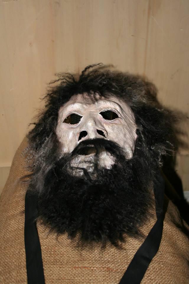 Maschera in cuio