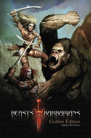 la copertina di beast & barbarians