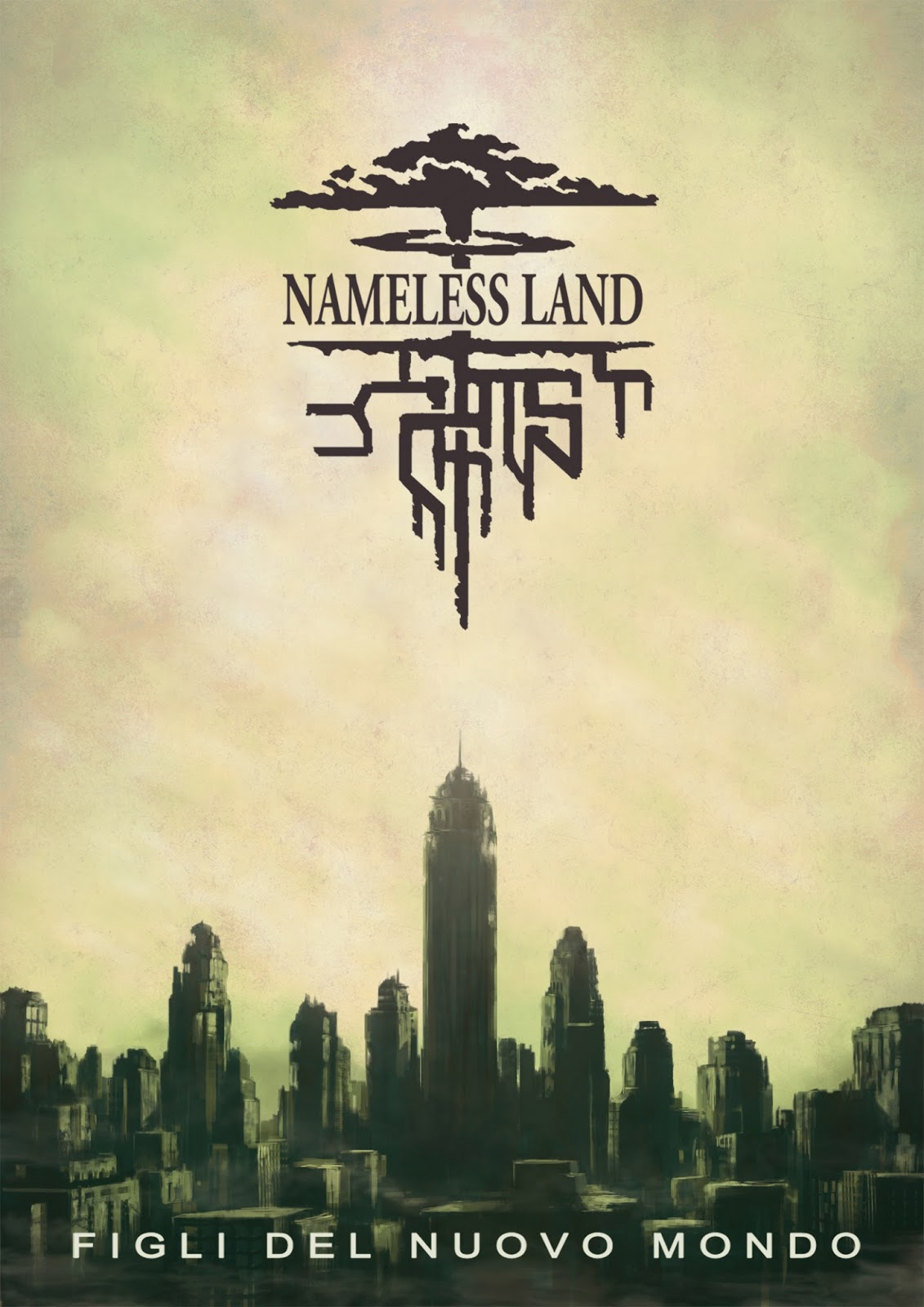 La copertina di Nameless Land