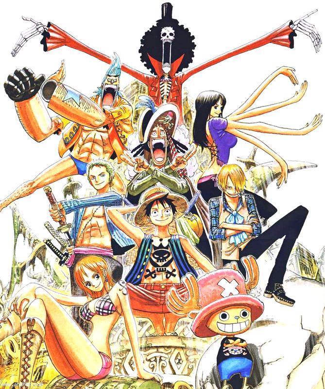 One Piece: il gruppo prima dei due anni