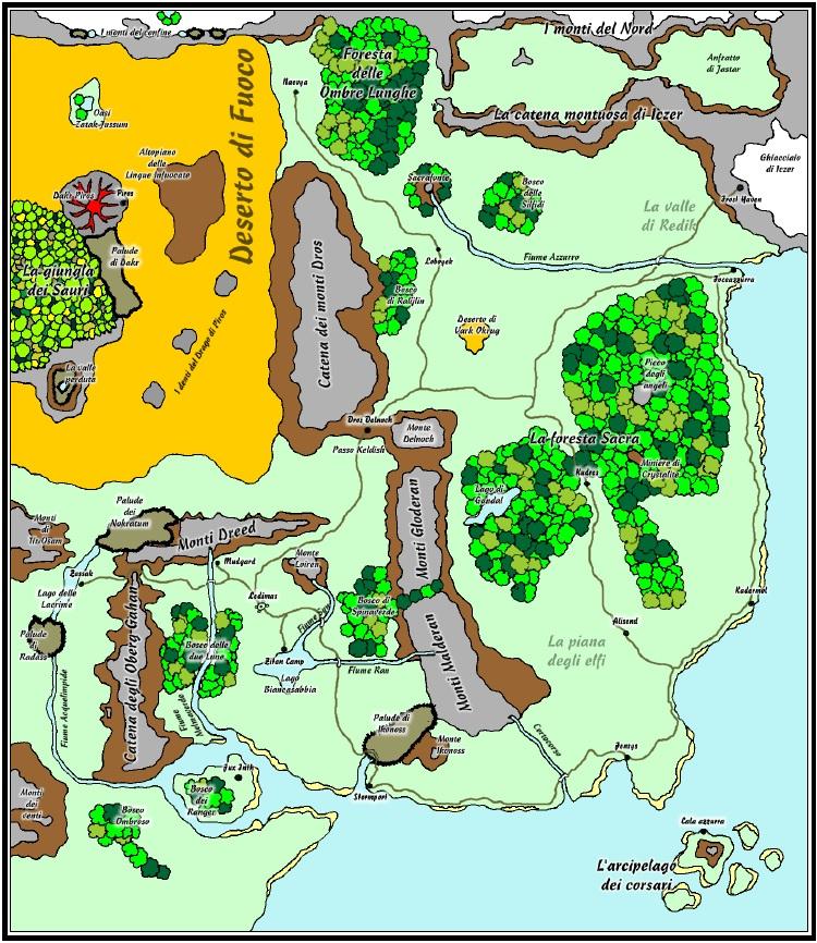 Mappa di Atlantis