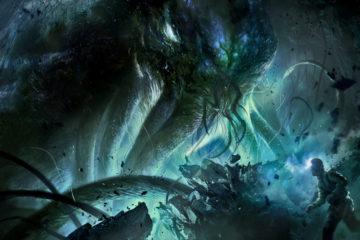 Cthulhu Awakens Wide Desktop Background