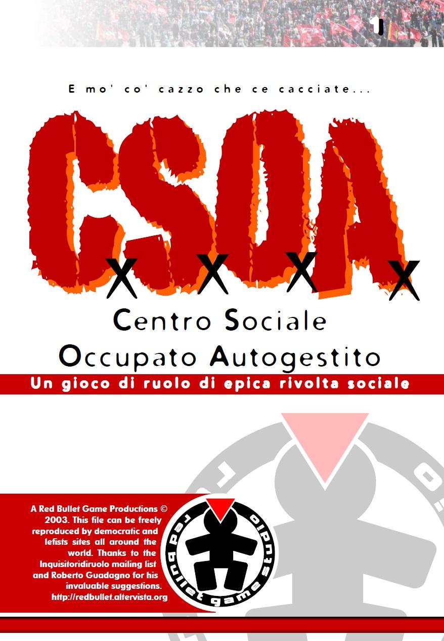 Copertina di C. S. O. A.