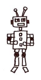 Un adorabile Robot