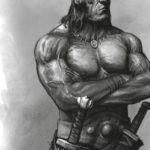 La titanica figura di Conan ingombra ovunque ci siano giocatori di barbari...