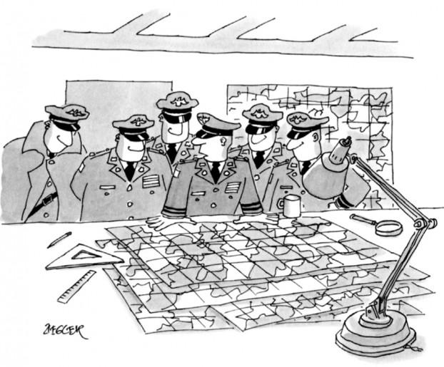 Generali e la loro strategia militare