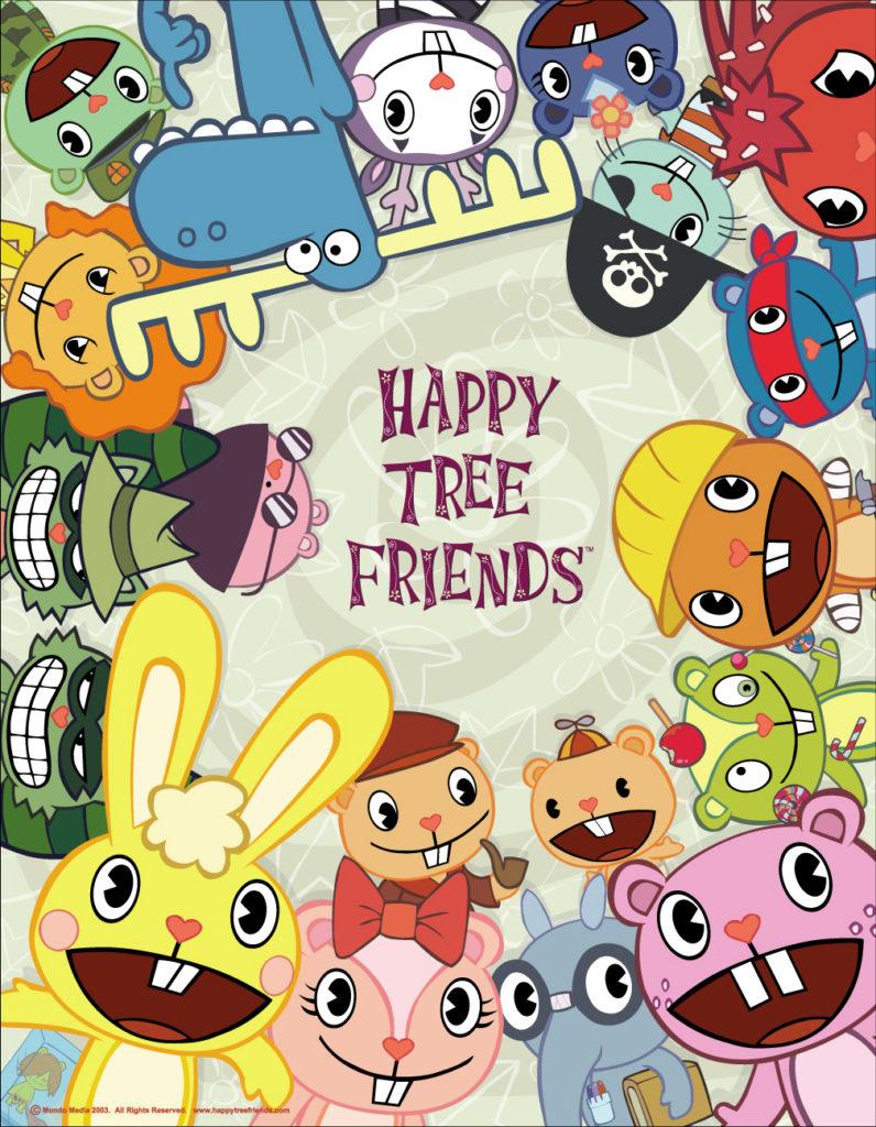 Locandina del cartone animato di Happy Tree Friends