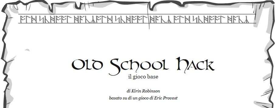 Copertina di Old School Hack