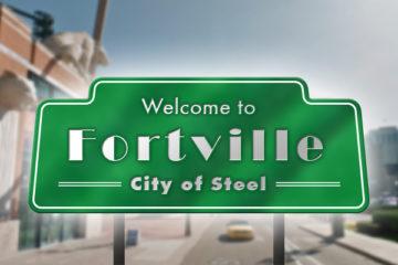Fortville-sign