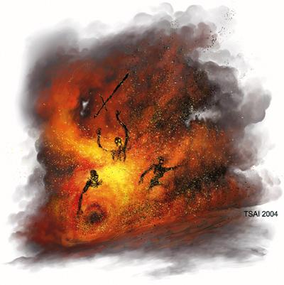 Cinder Swarm by Francis Tsai