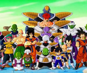 Dragon Ball foto di gruppo