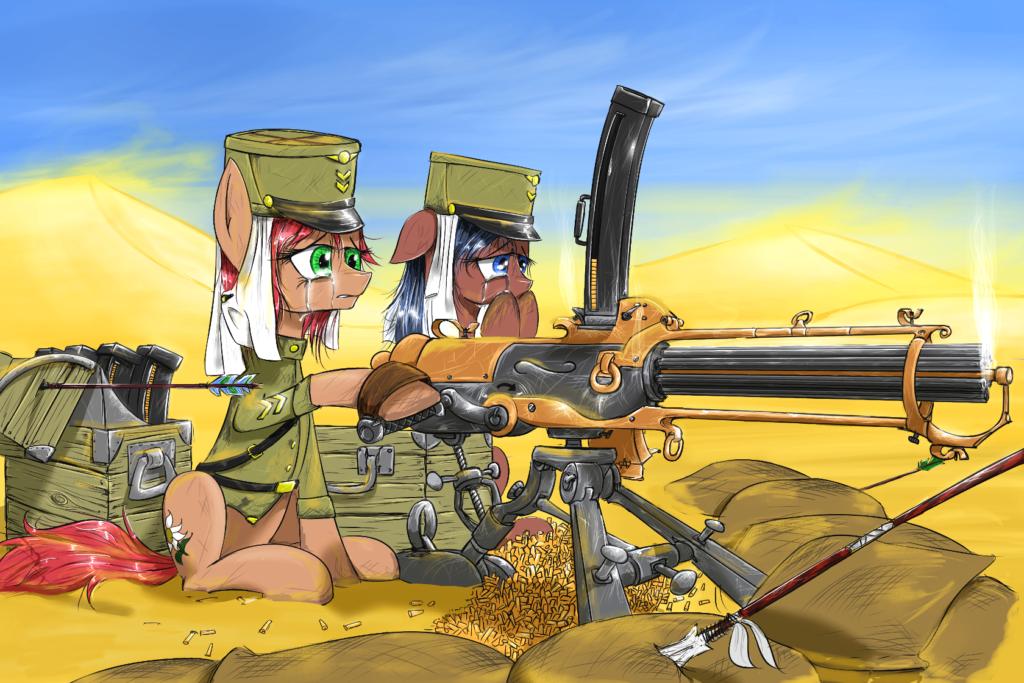 Pony armati