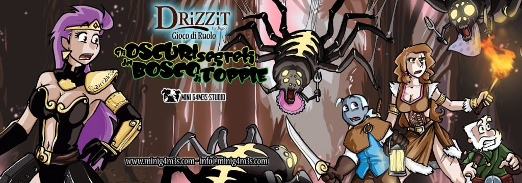 drizzit topple banner