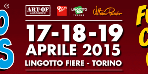 Torino Comics 2015 logo