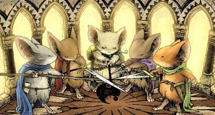 la gaurdia dei topi - mouse guard arriva in italia con wyrd