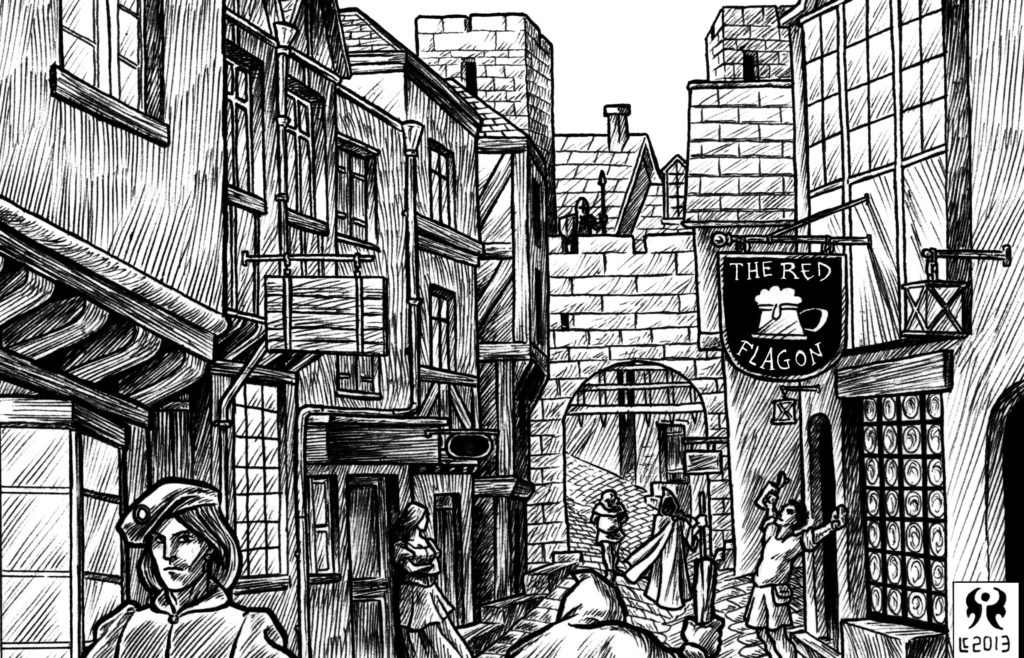 Illustrazione per Kerghom - Vita cittadina