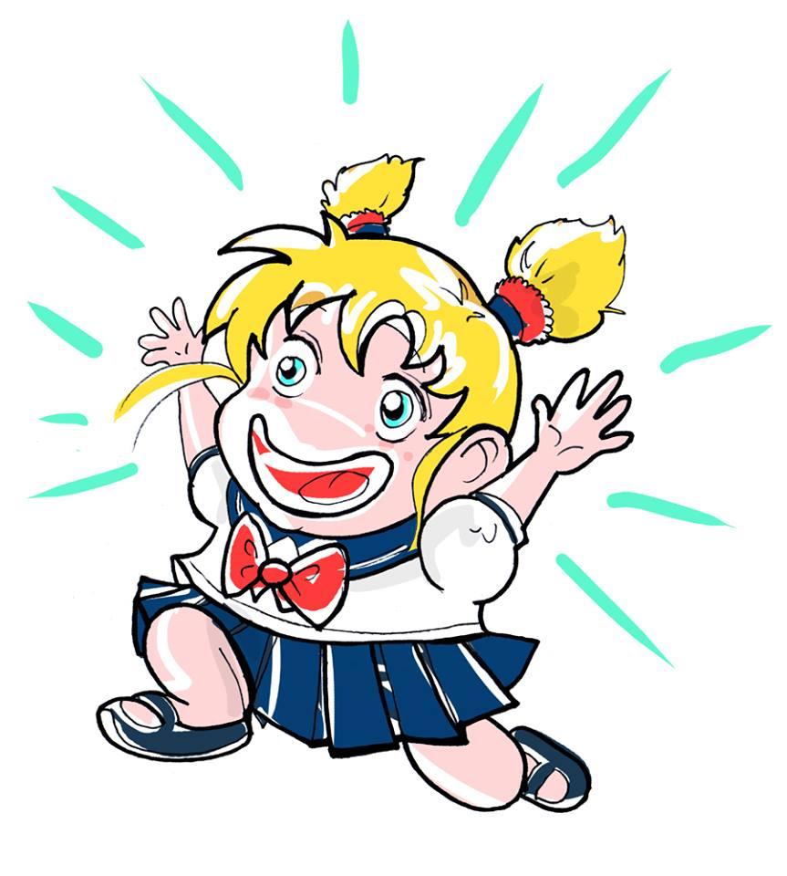 Il PG Entusiasta contagia tutti con la sua energia. Ogni riferimento a una certa guerriera Sailor è sicuramente casuale...