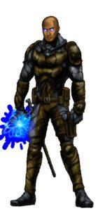 Un agente dell'Arcano addestrato a resistere ai poteri psionici.
