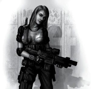 compaiono comunque molte donne soldato, in omaggio al realismo