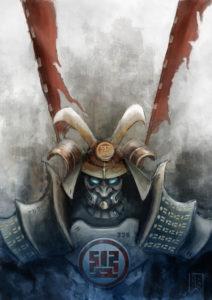Uno yoroi (armatura) Mishima