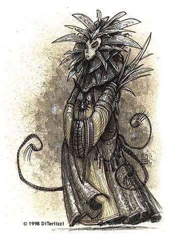 Lady Pain disegnata da DiTerlizzi