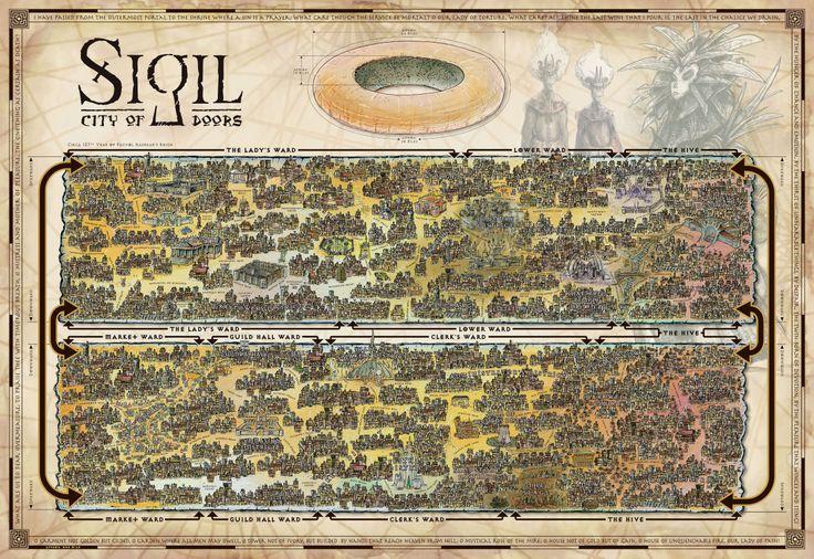 Mappa di Sigil