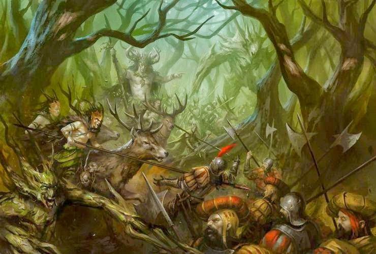 Wood Elf Armybook