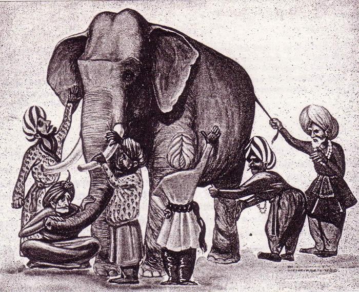 I sei ciechi e l'elefante
