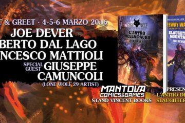 Vincent Books a Mantova Comics
