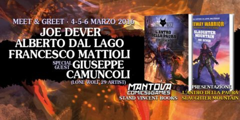 Vincent Books a Mantova Comics