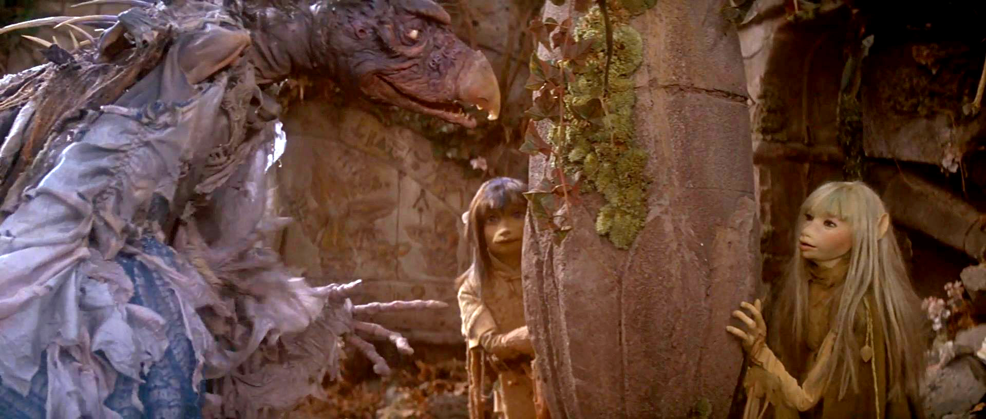 The Dark Crystal - Skeksis & Gelflings