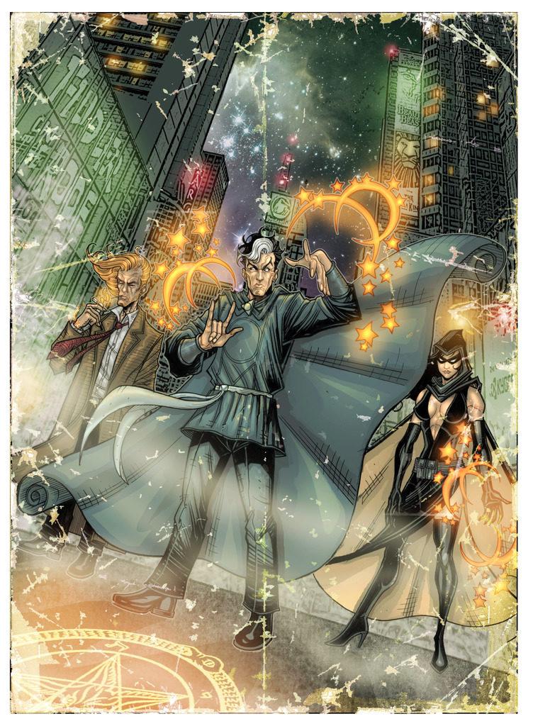 Le illustrazioni, e il gioco stesso, sono un continuo omaggio ai fumetti.