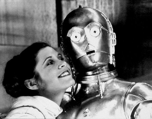 Persino per C-3PO.