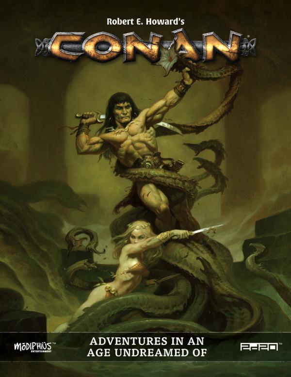 Conan in tutto il suo splendore.